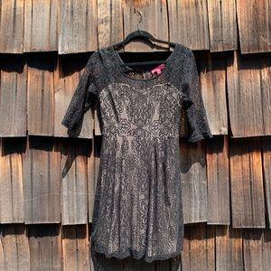 Betsey Johnson Lace Dress.